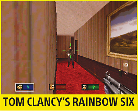 Tom Clancy's Rainbow Six Screen