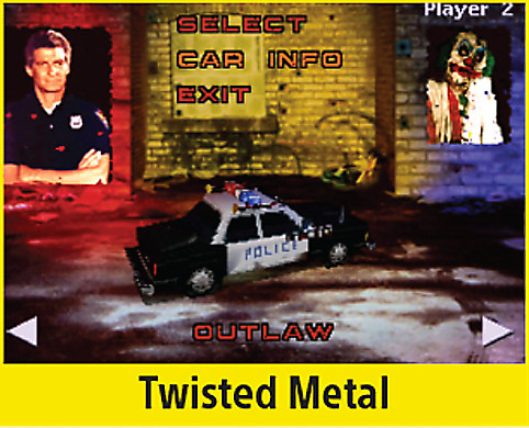 Twisted Metal Screen
