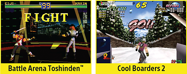 Battle Arena Toshinden, Cool Boarders 2