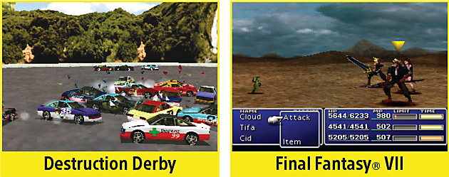 Destruction Derby, Final Fantasy VII