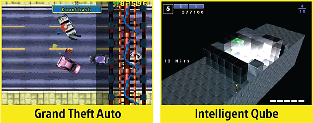 Grand Theft Auto, Intelligent Qube