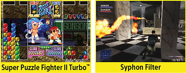 Super Puzzle Fighter II Turbo, Syphon Filter