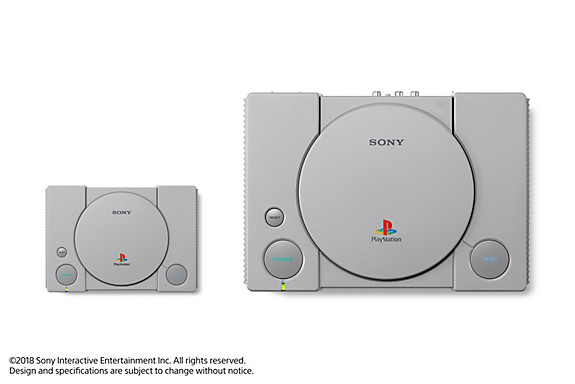 PlayStation Classic - Screenshot INDEX