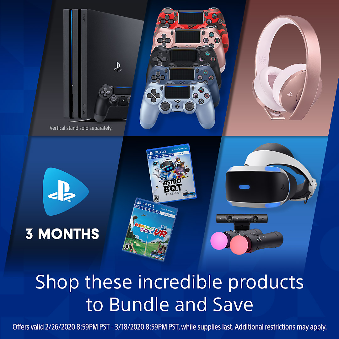 PlayStation Direct - Bundle & Save