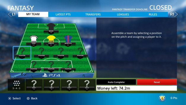 PlayStation F.C. Screenshot 4
