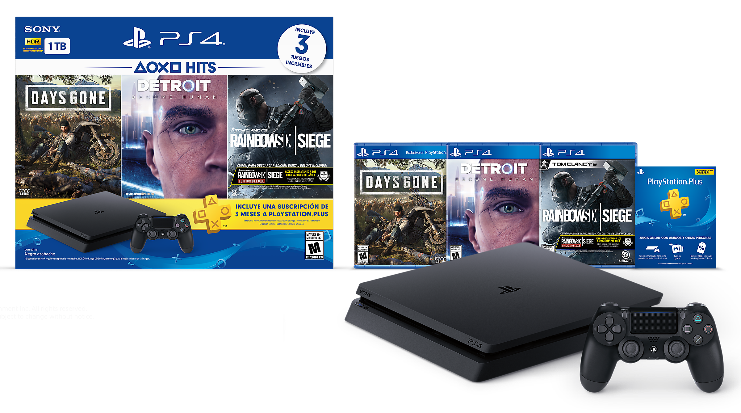 PlayStation Hits Bundle - LATAM