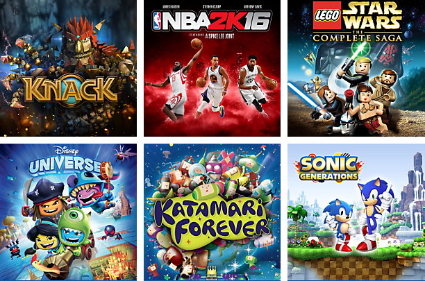 PlayStation Now - Kids and Family Games