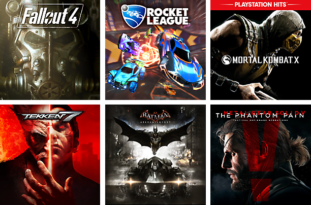 PlayStation Now - New Games
