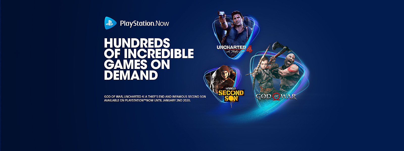 PlayStation Now - Hundreds of Incredible Games On Demand