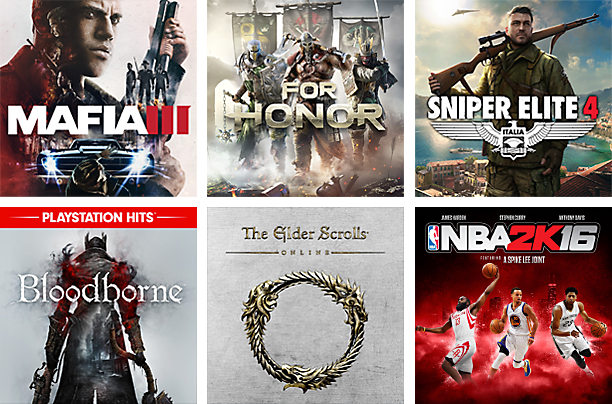 New Games with PlayStation Now
