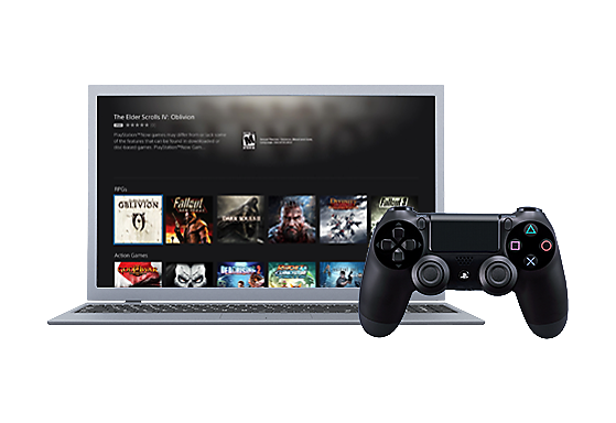 PlayStation Now on Windows PC