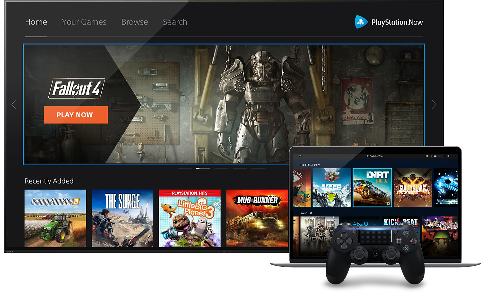 PlayStation Now - PlayStation Gaming on PC Image