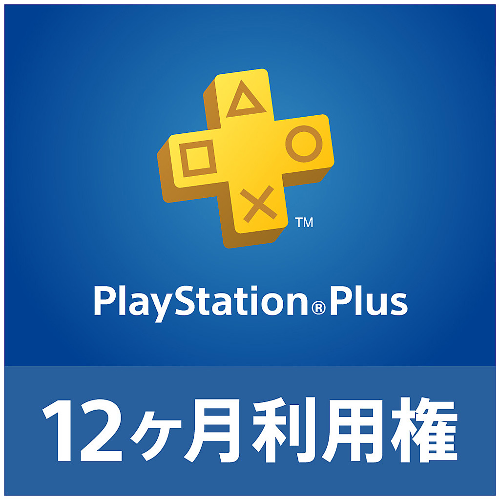 PlayStation Plus 12ヶ月利用権