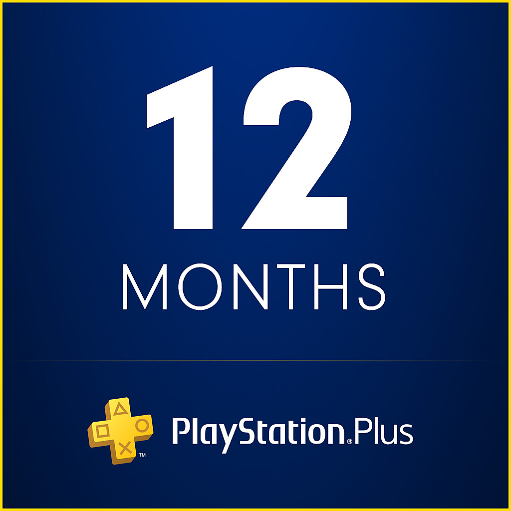 PlayStation Plus 12 Months Trial