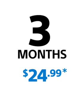 PlayStation Plus - 3 Month Membership for $24.99