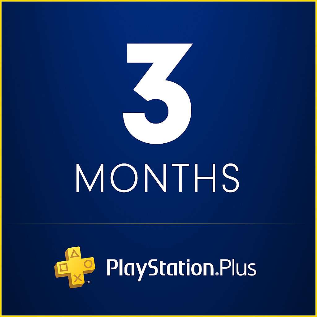 PlayStation Plus 3 Months Trial