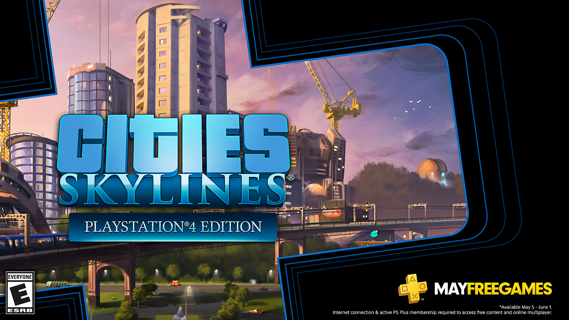 Click here to get Cities: Skylines free from the PlayStation Store for PlayStation Plus members