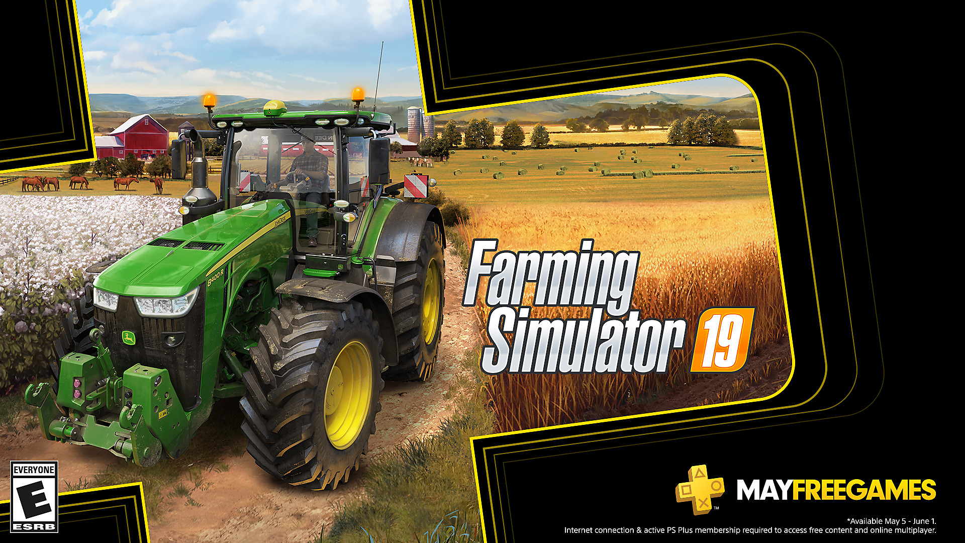 Click here to get Farming Simulator 19 free from the PlayStation Store for PlayStation Plus members