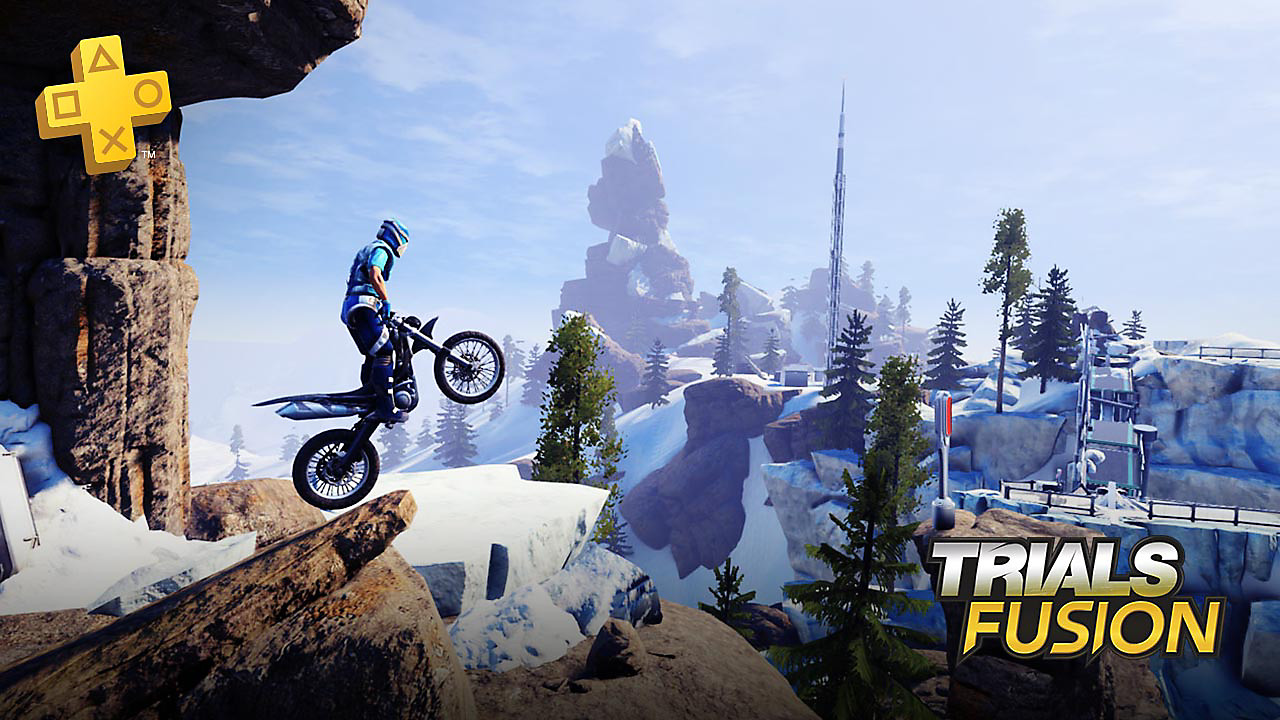 Trials Fusion - PlayStation Plus