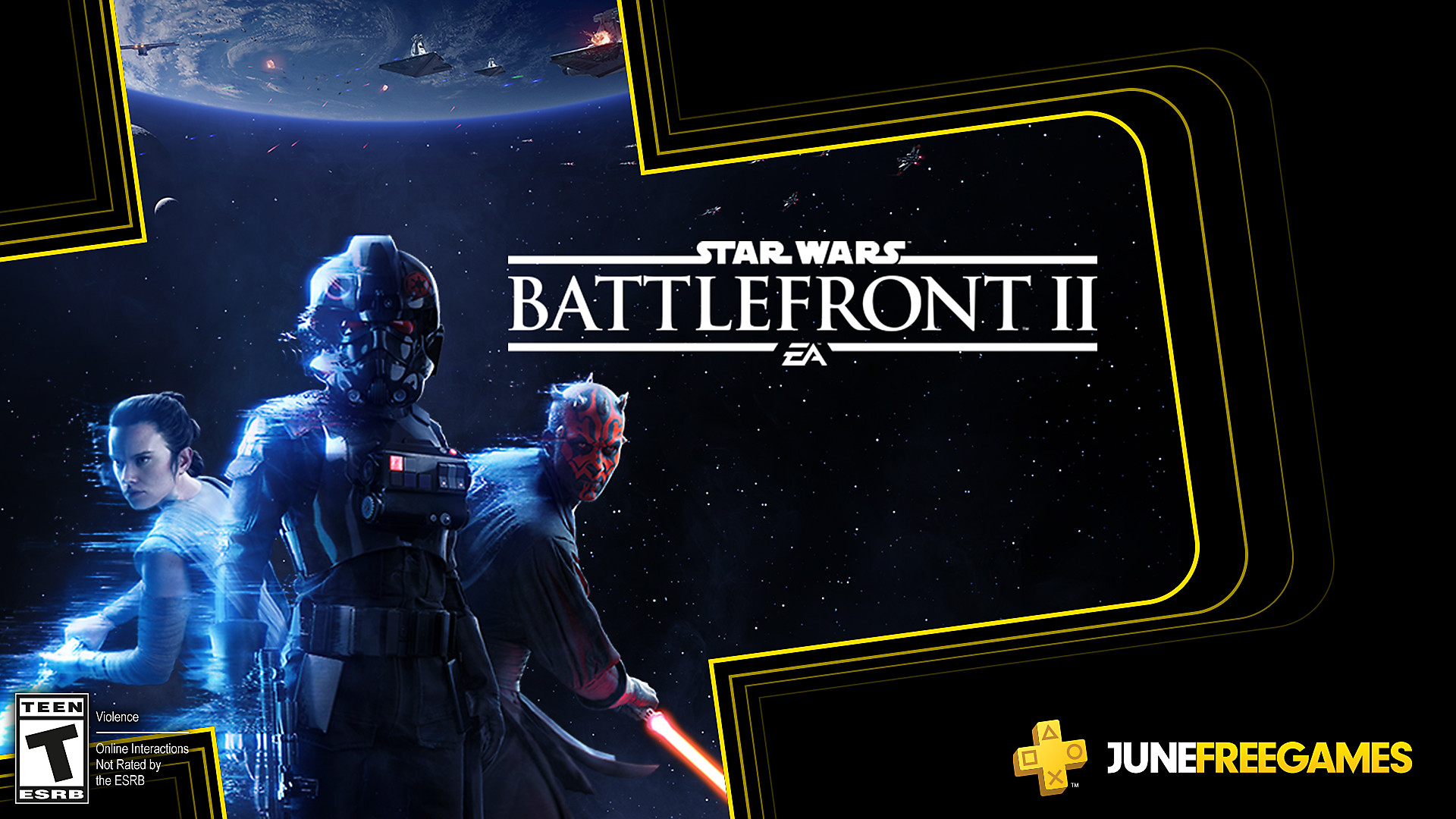 Click here to get Star Wars Battlefront II free from the PlayStation Store for PlayStation Plus members