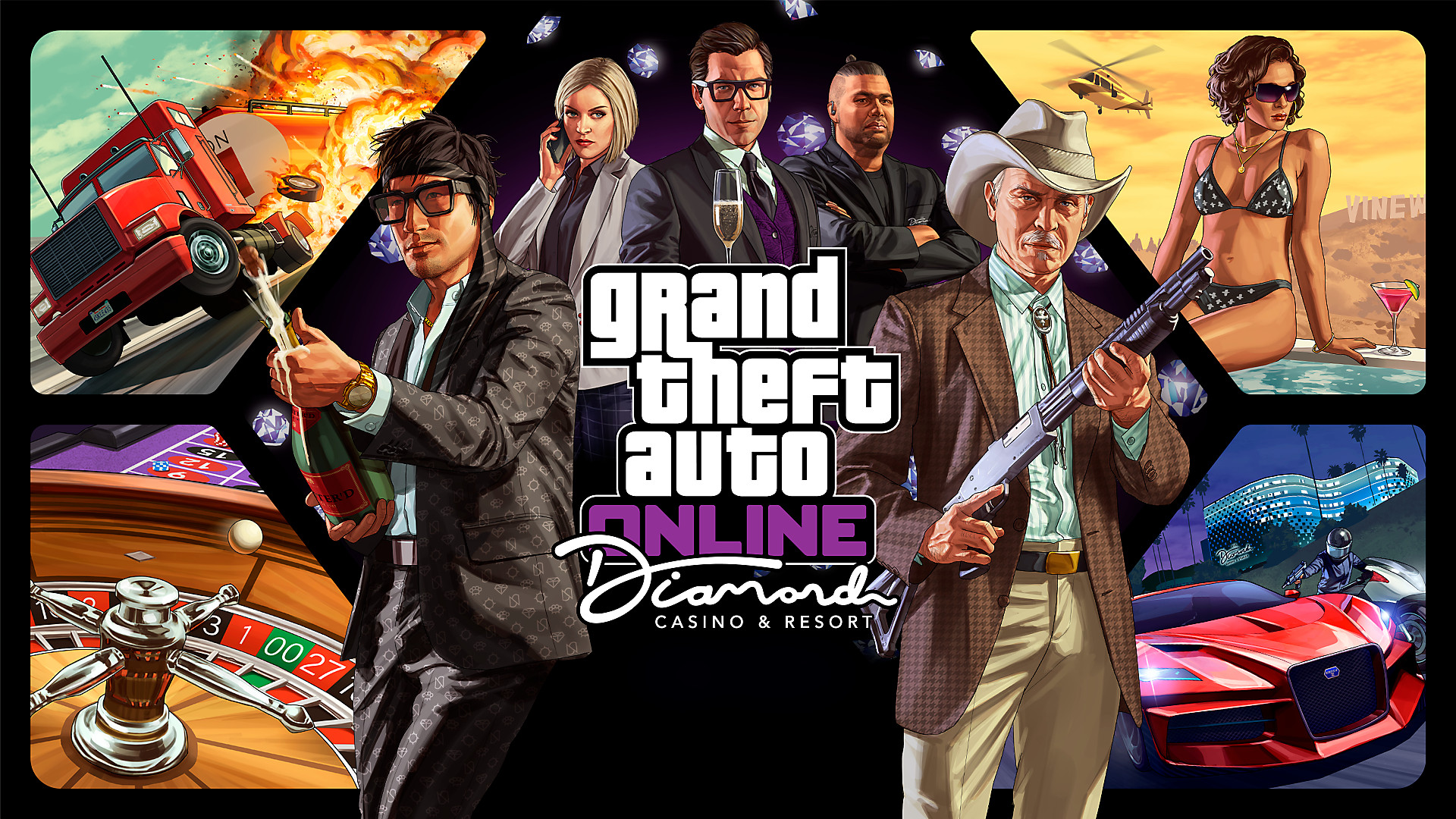 Grand Theft Auto Online - Diamond Casino and Resort