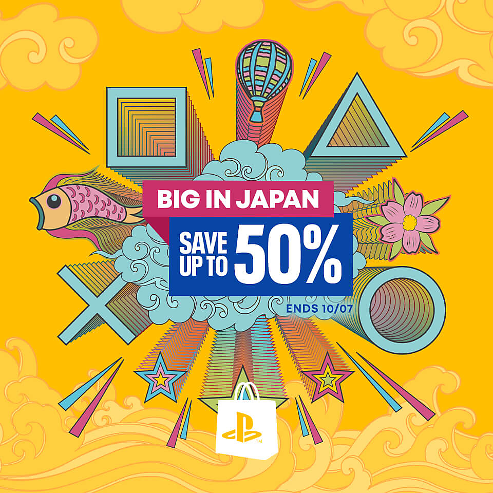 PlayStation Store - Big in Japan Sale