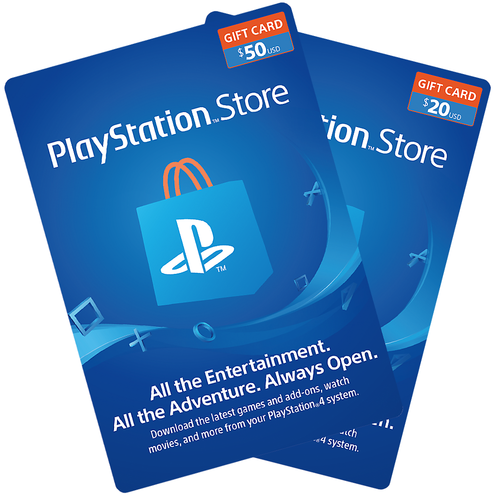 PlayStation Store Cards Spotlight
