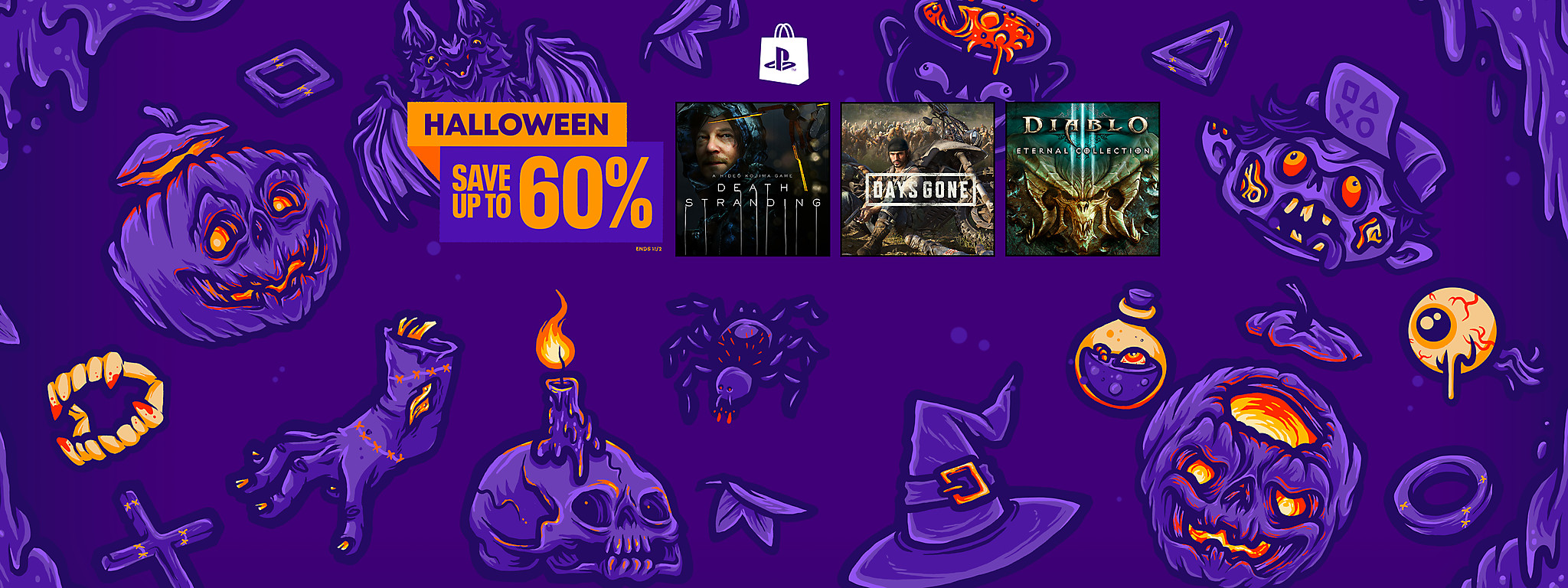 PlayStation Store - Halloween Sale