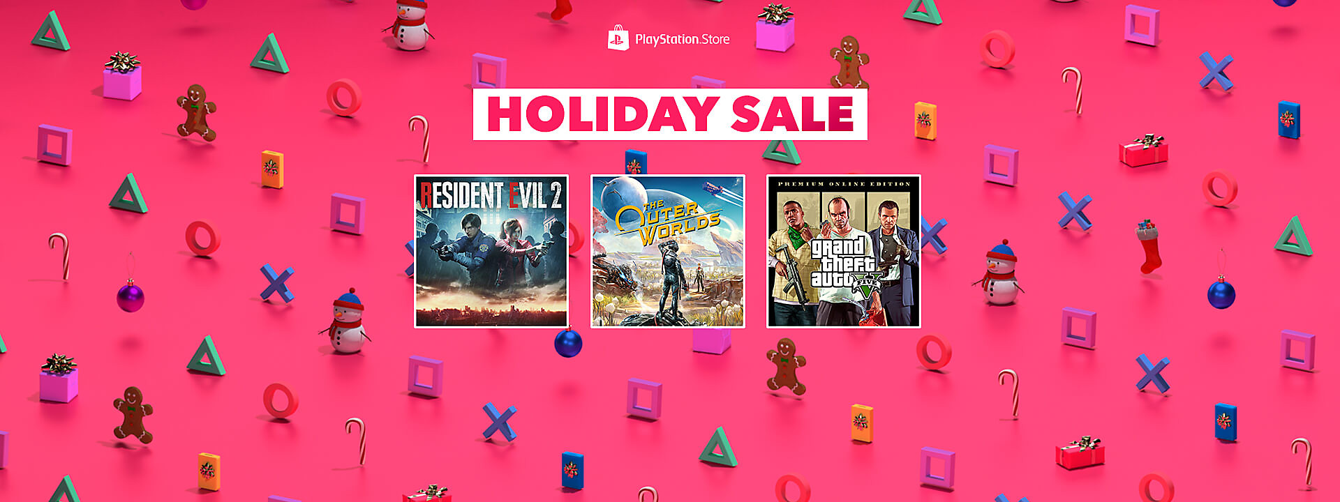 PlayStation Store - Holiday Sale
