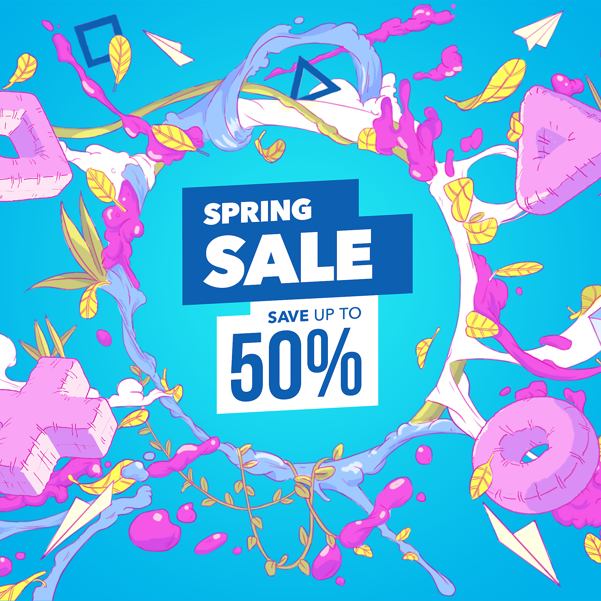 PlayStation Store - Spring Sale