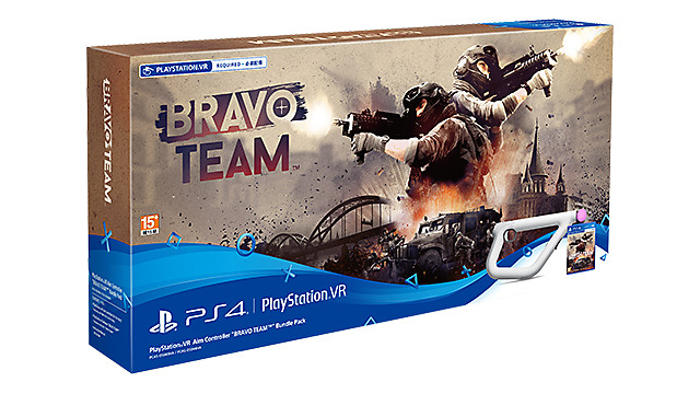 "PlayStation VR Aim Controller ""Bravo Team™"" Bundle Pack"