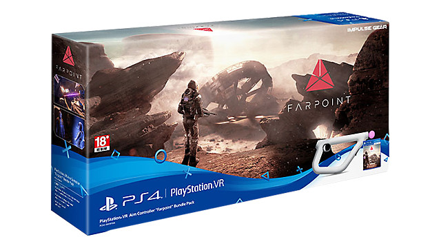 "PlayStation VR Aim Controller ""Farpoint"" Bundle Pack"