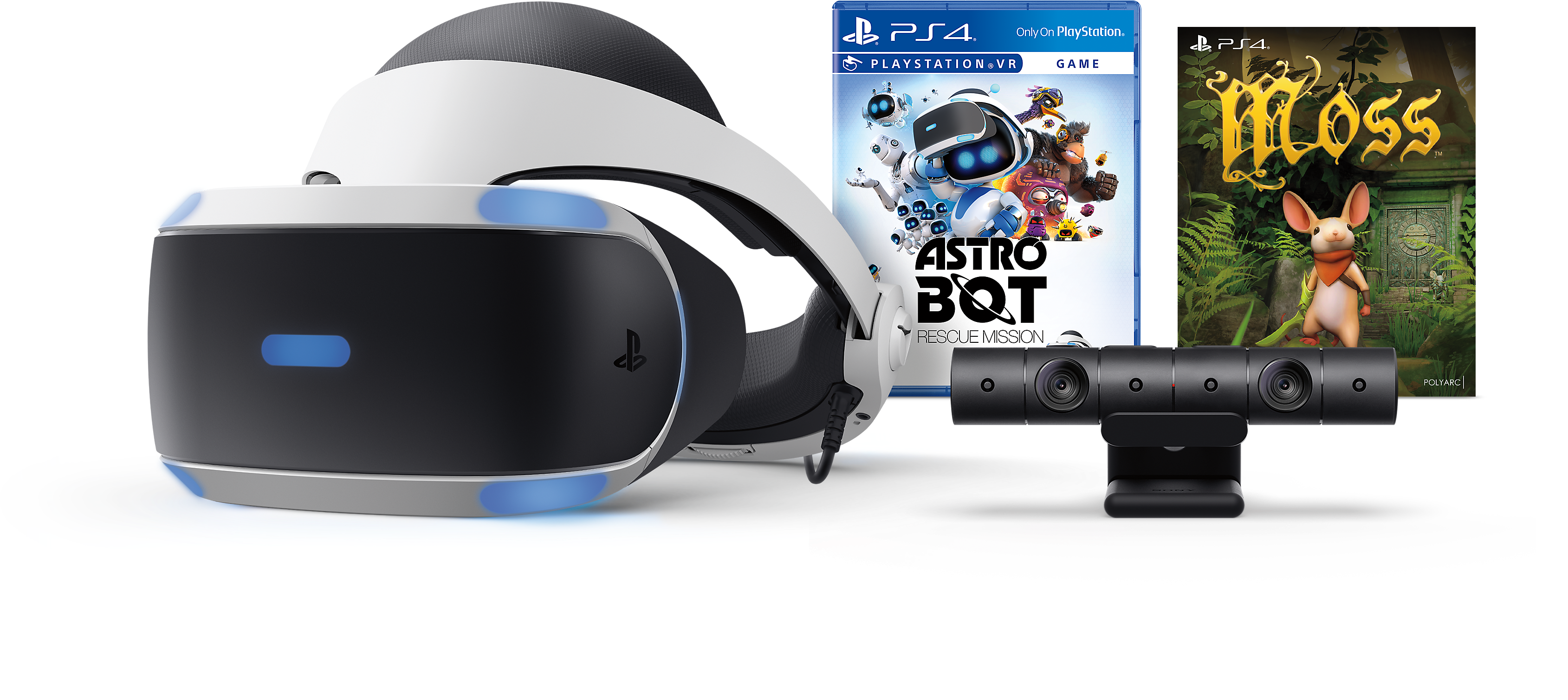 ASTRO BOT Rescue Mission and Moss Bundle Product Shot