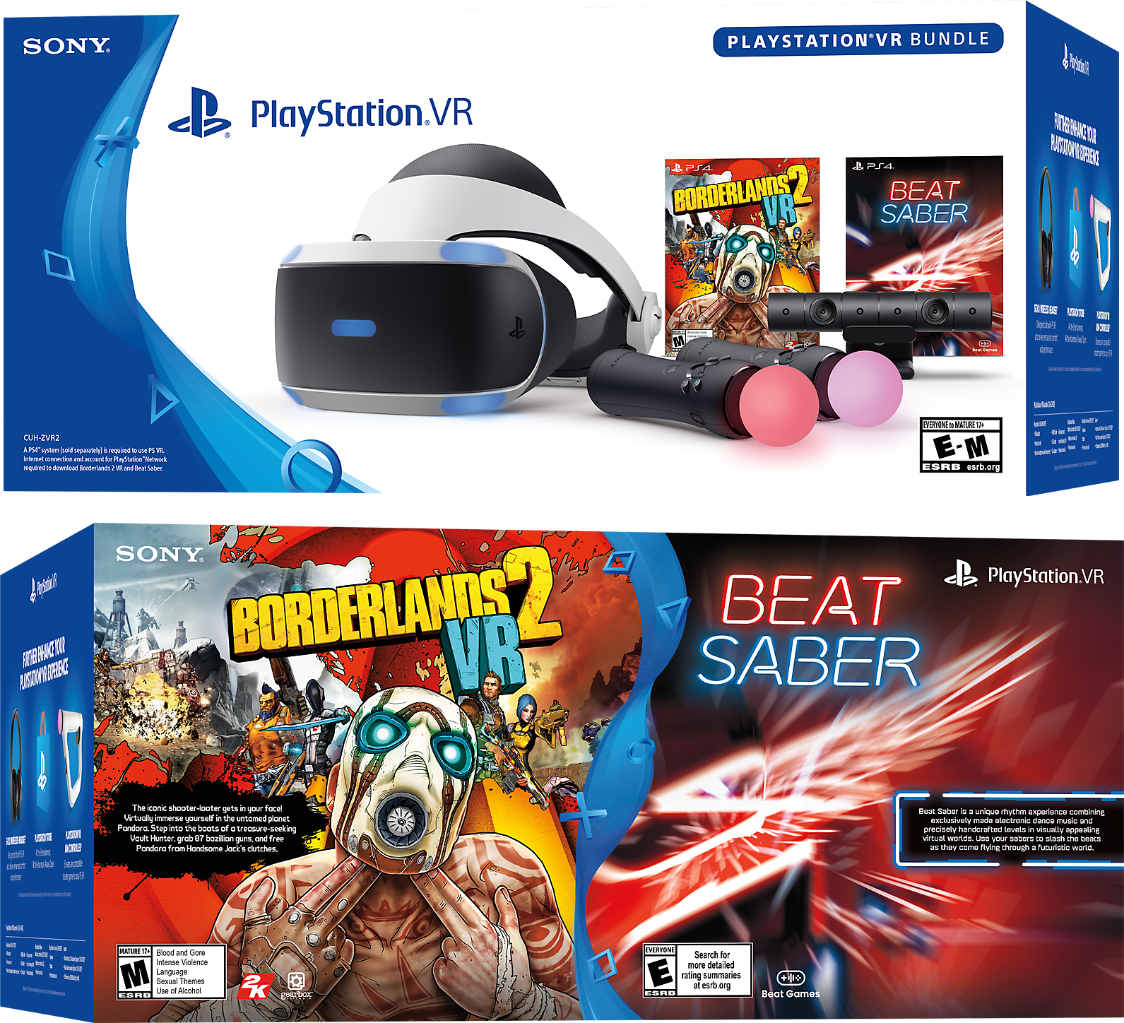 Borderlands 2 VR and Beat Saber Bundle Box Art