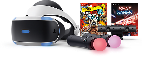 PlayStation®VR - Borderlands 2 VR and Beat Saber Bundle