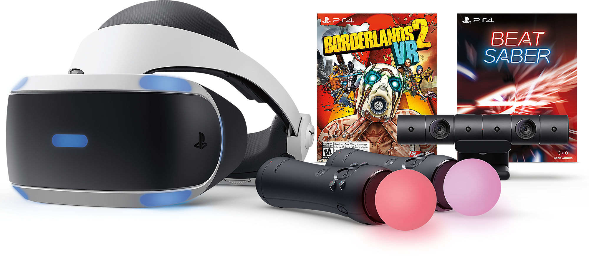 Borderlands 2 and Beat Saber VR Bundle art