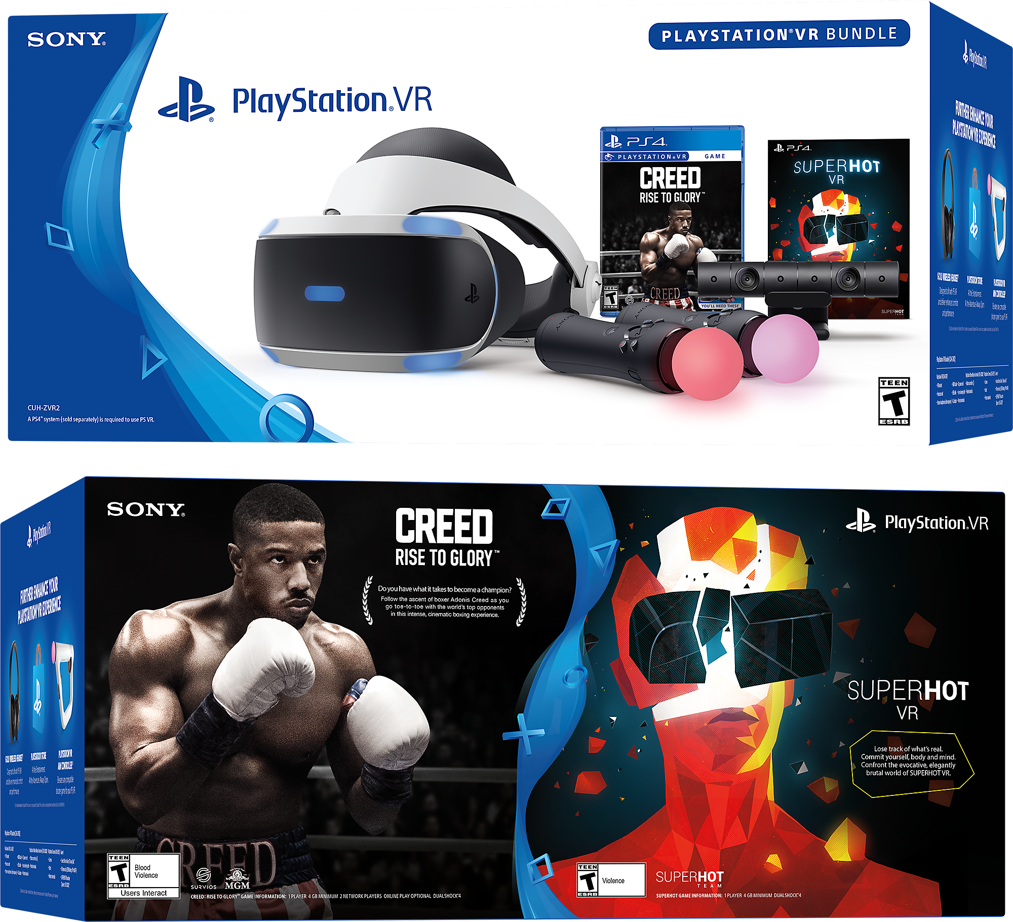 1ffb7a45d716 PlayStation®VR CREED  Rise to Glory™ and SUPERHOT VR Bundle ...
