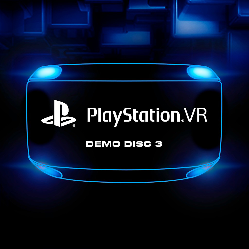 PlayStation VR Demo Disc 3 Store Art