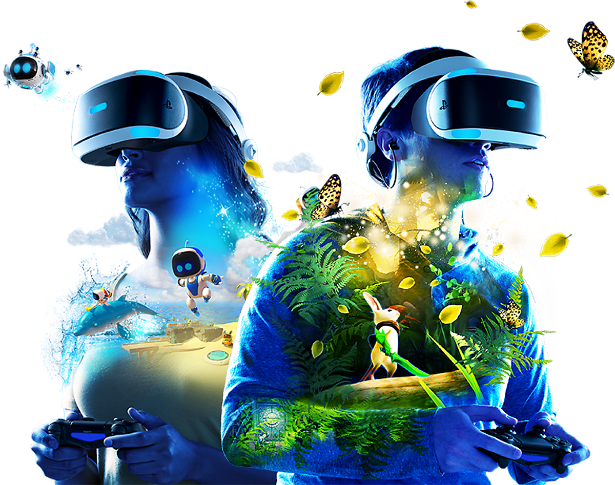 PlayStation VR - Discover a New World of Play Key Art