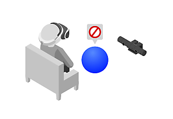 PlayStation VR - removing obstacles around play area