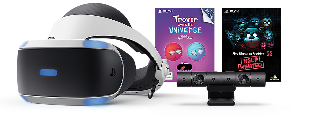 PlayStation VR Blood & Truth and Everybody's Golf VR Bundle - Product Image