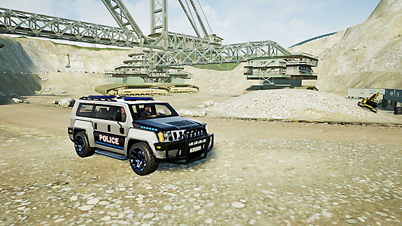 Police Chase - Screenshot INDEX