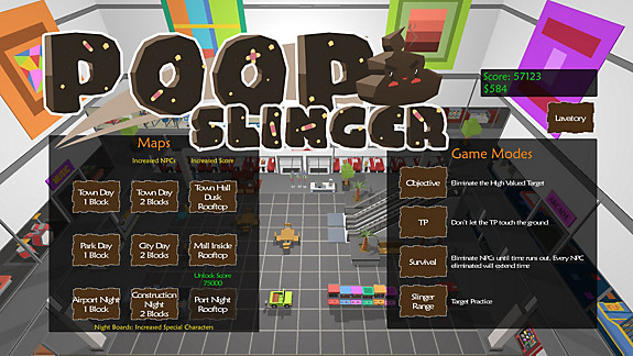 Poop Slinger - Screenshot INDEX