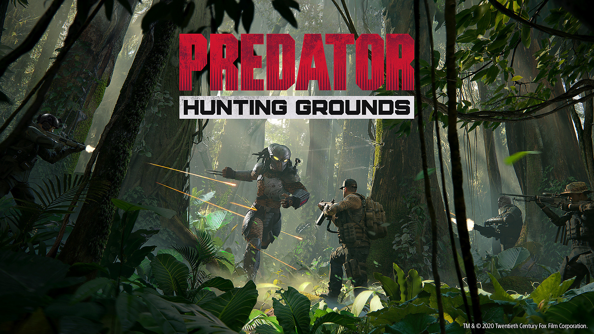 Predator Hunting Grounds Desktop Wallpaper