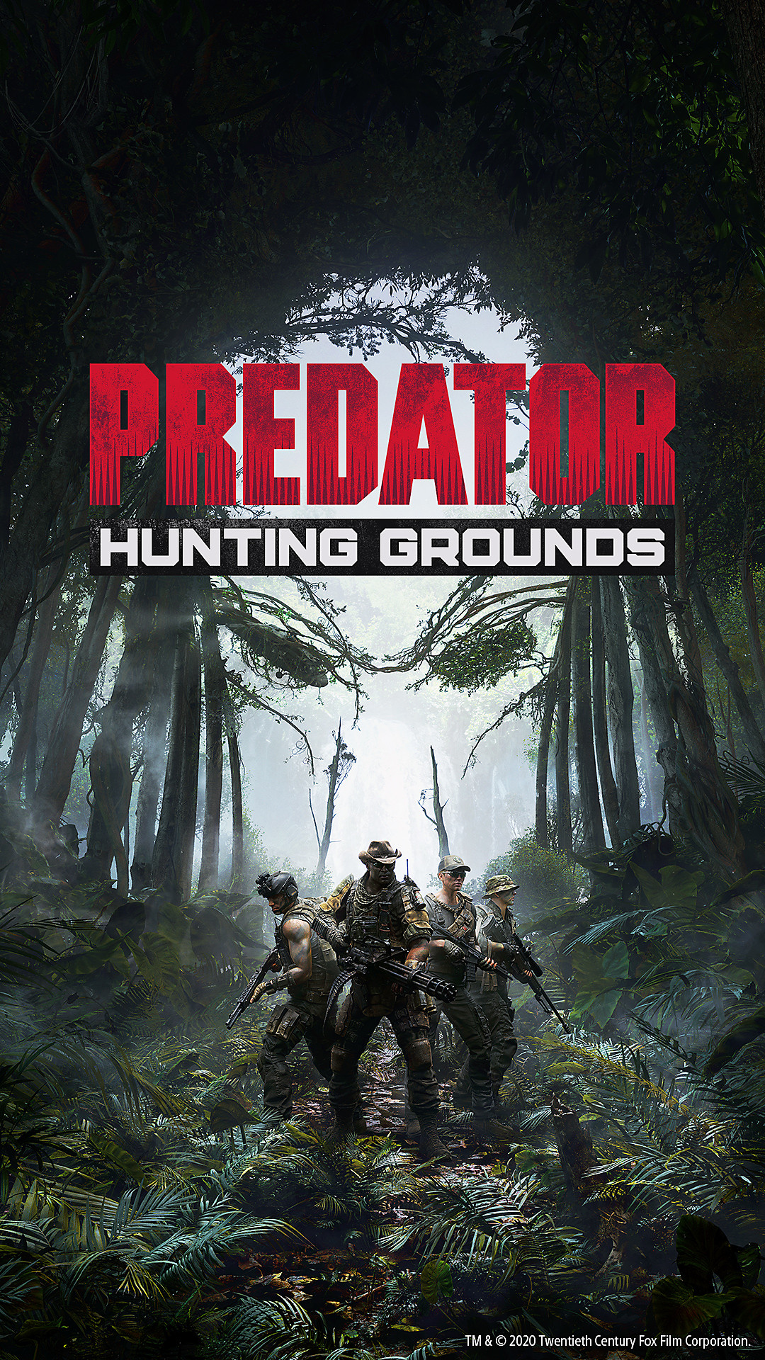 Predator Hunting Ground Mobile Wallpaper