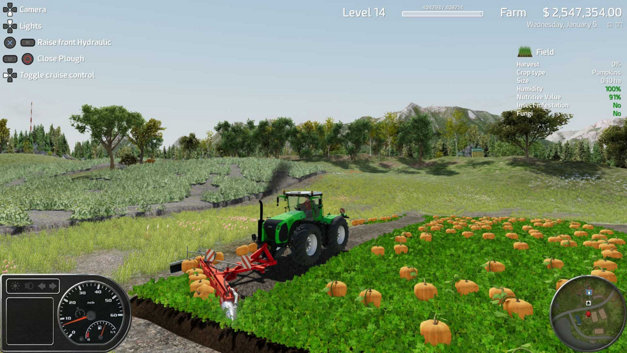 Professional Farmer: American Dream Screenshot 1