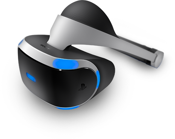 Sony Playstation VR headset ( seen here) are expected to ship in 2016.