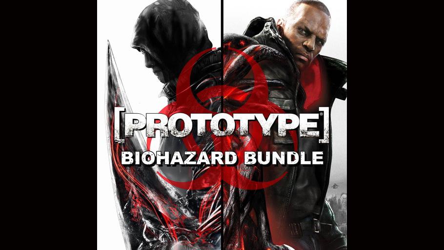 prototype biohazard bundle game ps4 playstation