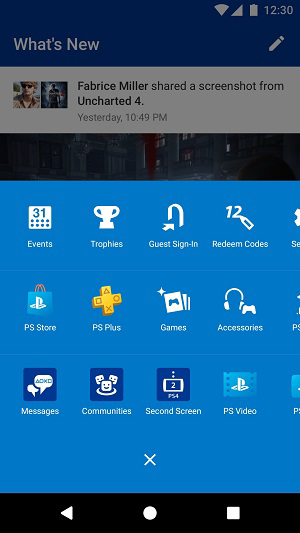 playstation app second screen