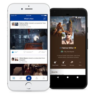 PlayStation App for Mobile Devices - PS4